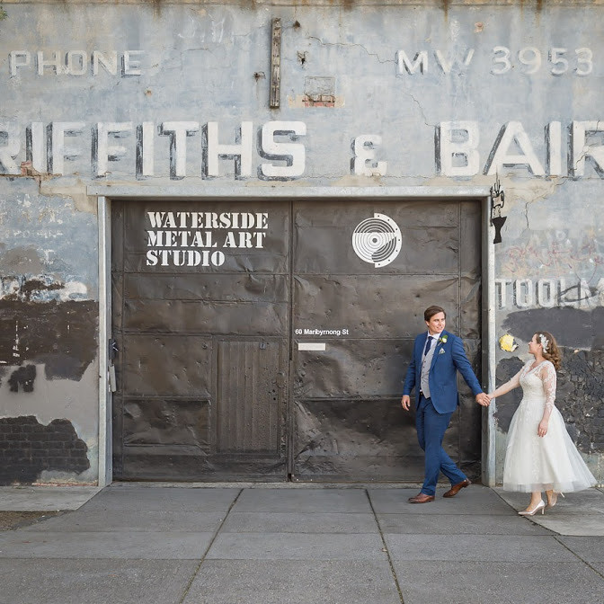 These two make Footscray industry look glam - Tom & Libby.