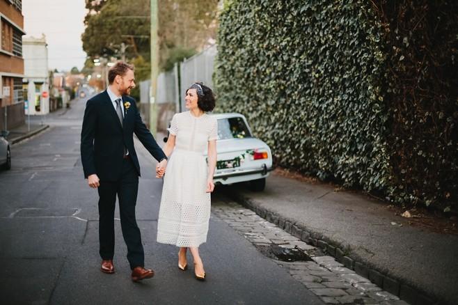Louisa & Rob. Streets of Collingwood. Pic: Circularink
