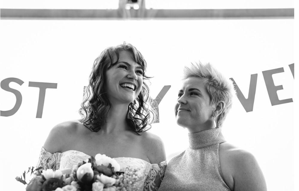 Vanessa & Bridie - So joyous. LJM-Photography.